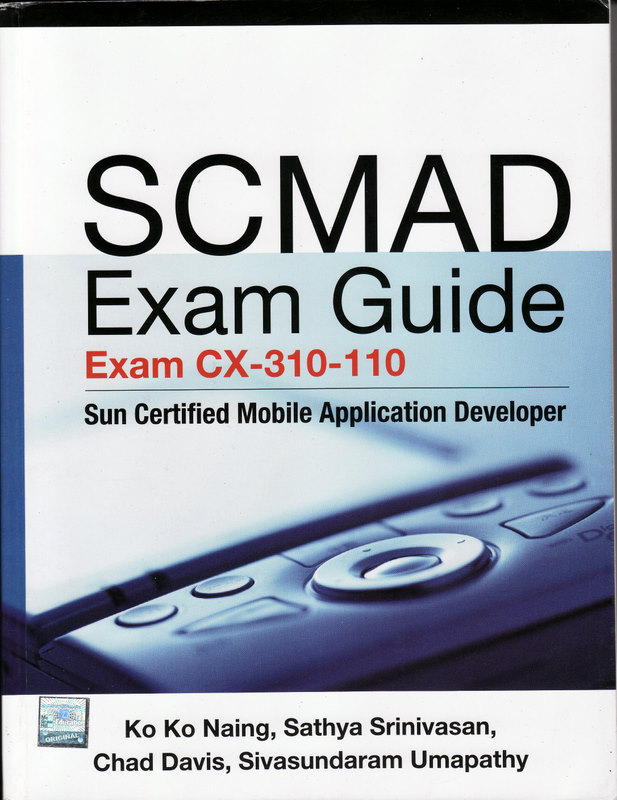 SCMAD Exam Guide - Front Cover